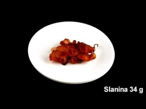 Ako vyzerá 200 kalórií na rôznych tanieroch