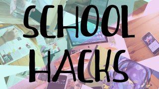 School Hacks CZ | Rady, tipy a triky do školy | Annies World