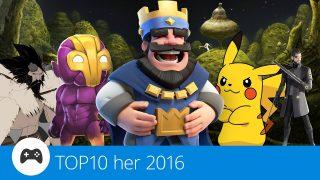 TOP 10: Nejlepší mobilní hry roku 2016
