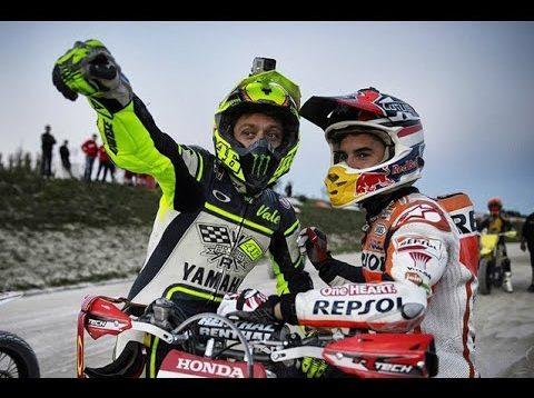 VALENTINO ROSSI vs. MARC MARQUEZ: Najlepšie Súboje v MOTO GP