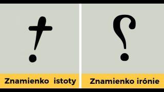 10+ interpunkčných znamienok, o ktorých ste nevedeli, že existujú