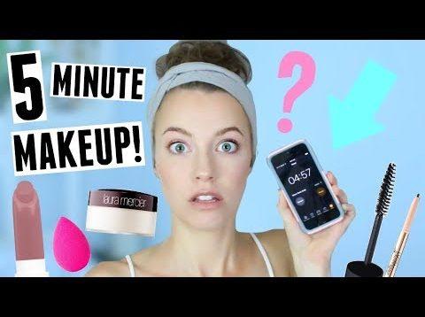 Rýchly make-up, na ktorý Vám stačí 5 minút
