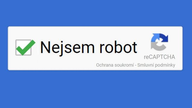 Jak Google pozná, jestli jsem robot?