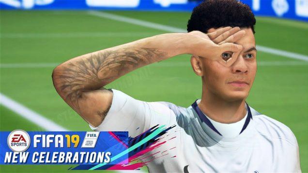 Jak na nové oslavy ve hře FIFA 19?
