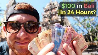 Kolik zábavy si můžete užít na Bali za pouhých 100$?