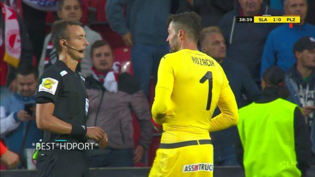 V zápase mezi Plzní a Slavií byly odpískány dvě penalty v jedné minutě!